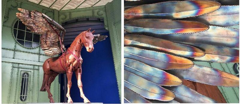 Saut Hermes Equestrian Lifestyle Pegasus