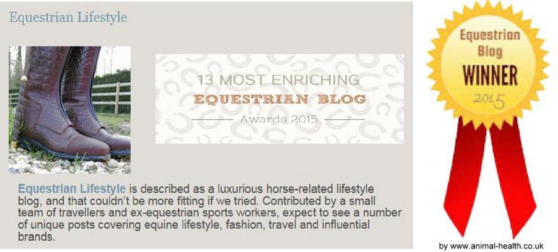 Equestrian Lifestyle Award Best Blog